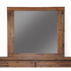 Alpine Furniture Pierre Mirror in Antique Cappuccino