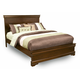 Alpine Furniture Chesapeake Queen Panel Bed in Cappuccino