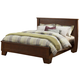 Alpine Furniture Durango Eastern King Platform Bed in Distressed Antique Mahogany