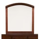 Alpine Furniture Atherton Mirror in Merlot