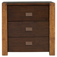 Alpine Furniture Element 2 Drawer Nightstand in Espresso ORI-213-02