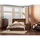 Alpine Furniture Element 2 4-Piece Platform Bedroom Set in Espresso
