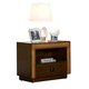 Alpine Furniture Jimbaran Bay NIghtstand in Tobacco ORI-811-02