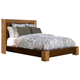 Alpine Furniture Jimbaran Bay California King Platform Bed in Tobacco ORI-811-07CK