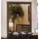 Alpine Furniture Portola Mirror in Dark Cherry PB-06DC