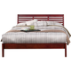 Alpine Furniture Portola Queen Platform Bed in Light Cherry PB-11 QLC