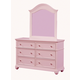 Standard Furniture Camellia Dresser in Bubblegum 95219