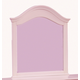 Standard Furniture Camellia Mirror in Bubblegum 95218 CLOSEOUT