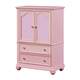 Standard Furniture Camellia Wardrobe in Bubblegum 95220
