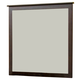 Alpine Furniture Solana Mirror in Cappuccino SK-06
