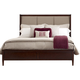 Kincaid Elise Solid Wood Spectrum Cal King Bed in Amaretto