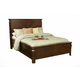 Alpine Furniture Windsor California King Panel Bed in Cherry