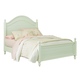 Standard Furniture Camellia Full Poster Bed in Mint