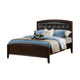 Alpine Furniture La Jolla Full Platform Bed in Espresso