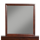 Alpine Furniture Carrington Mirror in Merlot