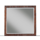 Alpine Furniture Loft Mirror in Dark Walnut ORI-711-06