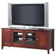 Alpine Furniture Costa TV Console in Medium Cherry