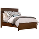 Alpine Furniture Loft Queen Panel Bed in Dark Walnut ORI-711-01Q