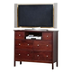 Alpine Furniture Costa 6 Drawer TV/Media Chest in Medium Cherry