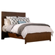 Alpine Furniture Loft California King Panel Bed in Dark Walnut ORI-711-07CK