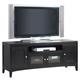 Alpine Furniture Vista TV Console in Dark Espresso SV-09
