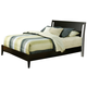 Alpine Furniture Vista King Low Footboard Sleigh Bed in Dark Espresso SV-07 EK