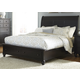 Liberty Furniture Hamilton III Queen Storage Bed in Black 441-BR-QSB