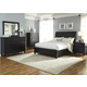 Liberty Furniture Hamilton III 4-Piece Storage Bedroom Set in Black