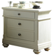 Liberty Furniture Harbor View II 2 Drawer Nightstand in Linen 631-BR61