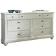 Liberty Furniture Harbor View II 7 Drawer Dresser in Linen 631-BR31