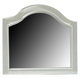 Liberty Furniture Harbor View II Arched Top Mirror in Linen 631-BR51