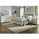 Liberty Furniture Harbor View II 4-Piece Sleigh Bedroom Set in Linen