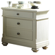 Liberty Furniture Harbor View III 2 Drawer Nightstand in Dove Gray 731-BR61 CLEARANCE