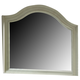 Liberty Furniture Harbor View III Arched Top Mirror in Dove Gray 731-BR51 CLEARANCE