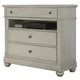 Liberty Furniture Harbor View III Media Chest in Dove Gray 731-BR45