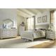 Liberty Furniture Harbor View III 4-Piece Sleigh Bedroom Set in Dove Gray