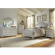 Liberty Furniture Harbor View III 4-Piece Poster Bedroom Set in Dove Gray