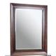 Aspenhome Walnut Park Landscape Mirror  in Cinnamon Walnut I05-462