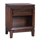 Aspenhome Walnut Park One Drawer Nightstand in Cinnamon Walnut I05-451