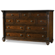 Hooker Furniture Leesburg Ten-Drawer Dresser in Mahogany 5381-90002