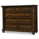 Hooker Furniture Leesburg Seven-Drawer Bureau in Mahogany 5381-90011