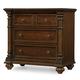 Hooker Furniture Leesburg Three-Drawer Nightstand in Mahogany 5381-90016