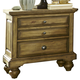 Liberty Furniture High Country 3 Drawer Nightstand in Honey Spice 797-BR61