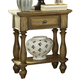 Liberty Furniture High Country Chair Side Nightstand in Honey Spice 797-BR62