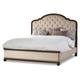 Hooker Furniture Leesburg California King Upholstered Bed in Mahogany 5381-90860