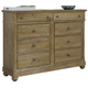 Liberty Furniture Harbor View 8 Drawer Bureau in Sand 531-BR32
