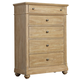 Liberty Furniture Harbor View 5 Drawer Chest in Sand 531-BR41