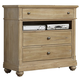 Liberty Furniture Harbor View Media Chest in Sand 531-BR45