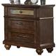 Liberty Furniture Coronado 3 Drawer Nightstand in Tobacco 562-BR61