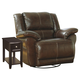 Lenoris - Coffee Father's Day Swivel Rocker Recliner Package $999.00